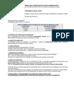 Requisitos Minimos Para Comprovante de Vinculo Empregaticio - 2013-08-08