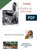 1. Estilos Del Liderazgo