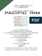 PACIFIC RIM - Δελτίο Τύπου