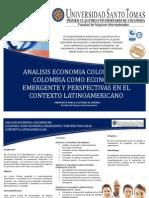 Analisis Economia Colombiana Como Economia Emergente