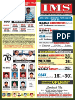 IAS, IFoS, CSAT, CSIR, GATE, UGC NET- New Batches For Session 2014 & 15