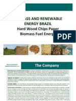 Brazil Biomass Exports Wood Chips News 2009