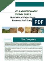 Brazil Biomass Exports Wood Chips News 2009