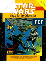 Star Wars d6 Adv - WEG40016 Battle for the Golden Sun