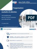 Rapport_Les Français face aux obsèques_Septembre 2013 conférence de presse