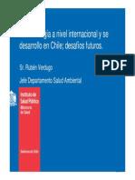 La metrología a nivel internacional y se desarrollo en Chile