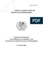 Guidance Paper on Anti Money Laundering and Combating the Financing of Terrorism