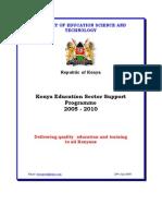 Kenya Education Plan