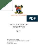 Lagos Motor Vehicles 2012 Database