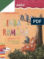 Culegere Limba Romana Pentru Clasele 1-4