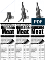 There's No Such Things As Humane Meat