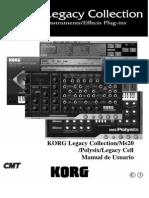 Manual Korg Legacy