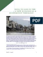 Ecological & Ecofeminist Theology