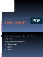 Presentation on Stock Market