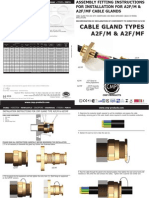 CMP A2F Mining Installation Fitting Instructions FI443 Issue 1 0711