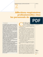 Affections Respiratoires