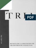 Revista TRIA #0 Año 1994
