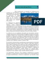Problemática de la cuenca del Lago Titicaca