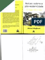 MAFFESOLI, Michel - Notas sobre a pós-modernidade - o lugar faz o elo.pdf