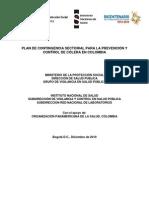 Plan Contigencia Prevencion y Control Colera Colombia 22-12-2010-Con VoBo