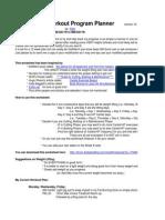 12 Week Workout Program Planner v1b - InGLES