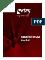 Produtividade Em Java Com Grails Final - PalestraWanderson