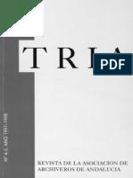 Revista TRIA #4 y #5 Años 1997-1998