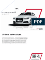 Audi S line Selection Catalogue (Germany, 2013)