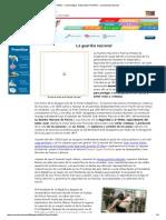 RENa - Cuarta etapa - Educación Premilitar - La Guardia Nacional