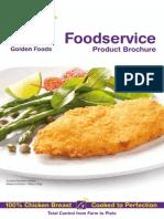 Golden Foods Product Brochure Interactive