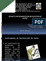 presentacion tecnicas