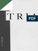 Revista TRIA #7 (Año 2000)