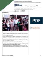 16-10-2013 'Atiende Pepe Elías quejas contra la COMAPA'