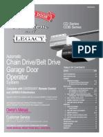 Legacy Installation/Overhead Doors