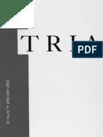 Revista TRIA #8-9 (Años 2001-2002)