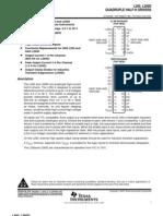 L293D Motor Driver Datasheet
