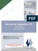 Manual de Instalação APE