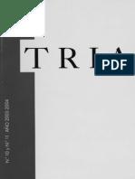 TRIA Nºs. 10-11 (Años 2003-2004)