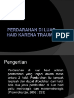 PERDARAHAN DI LUAR HAID KARENA TRAUMA.pptx