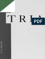 Revista TRIA #12 (Año 2005)