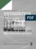 Estadística para laboratorista químico - Carlomagno