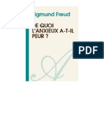 SIGMUND FREUD-De Quoi Lanxieux a-t-il Peur -[Atramenta.net]