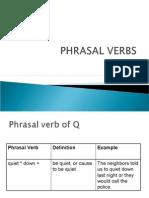 phrasal verbs-q,r,s