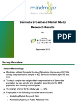 Regulatory Authority Market Study - Broadband Research Results FINAL September 26 2013