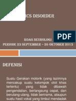 Tics Disorder
