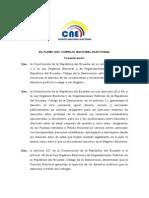 CONVOCATORIA ELECCIONES 2014