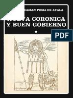 Guamán Poma de Ayala - Nueva corónica y Buen Gobierno, I