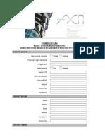 Form Registrasi Axn