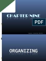 Ch.9 Organizing
