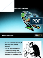 Ansys Best Practices